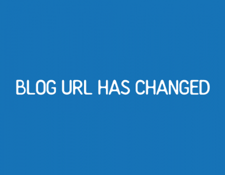 ブログアドレス変更のお知らせ